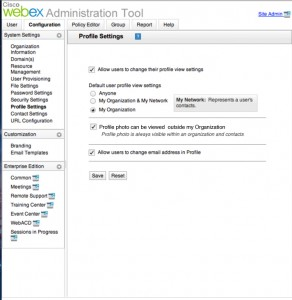WebexAdministrationTool